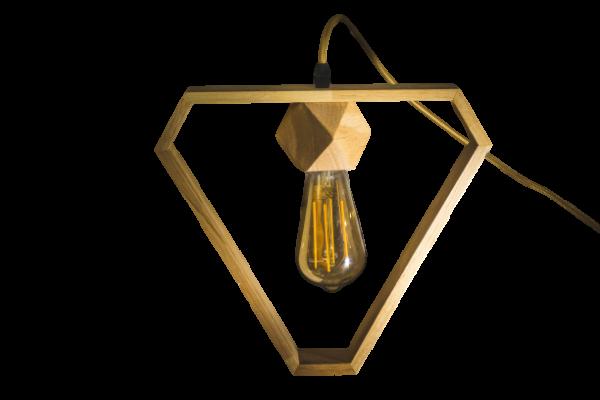 מנורת עץ