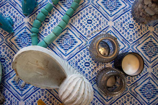 מפה לשולחן - משולש יווני
