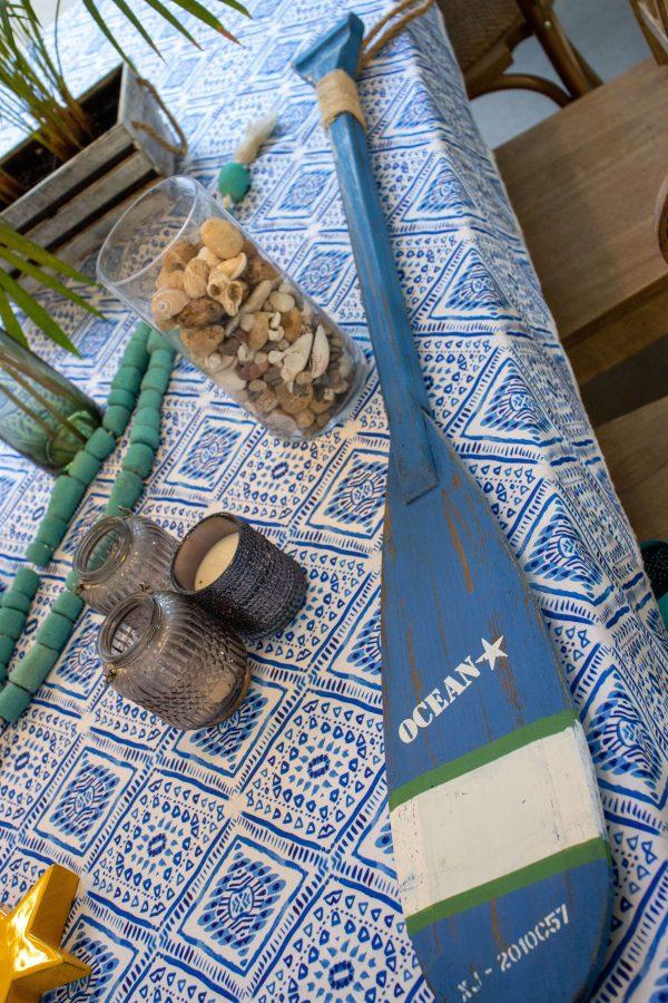מפת שולחן - משולש יווני