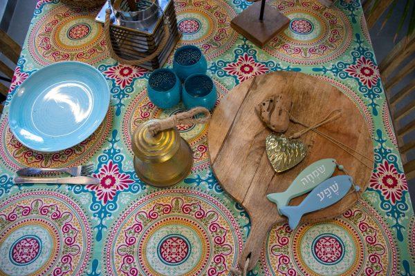 מפת שולחן - מרוקו סטייל כהה