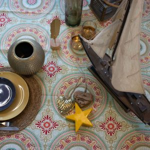 מפת שולחן - מרוקו בהיר