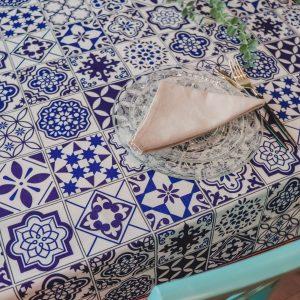 מפת שולחן - מטבח יווני